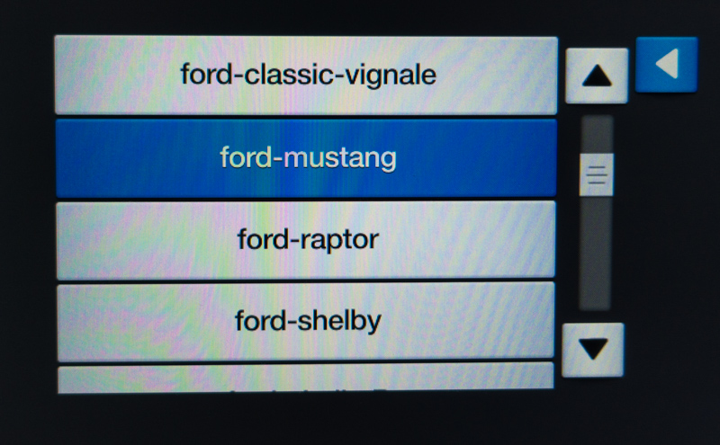 The Secret Test Menus of Your Mustang    And Have a Shelby